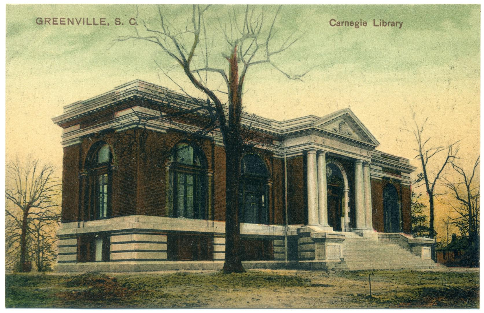 Greenville: Furman University - Carnegie Library (1907)