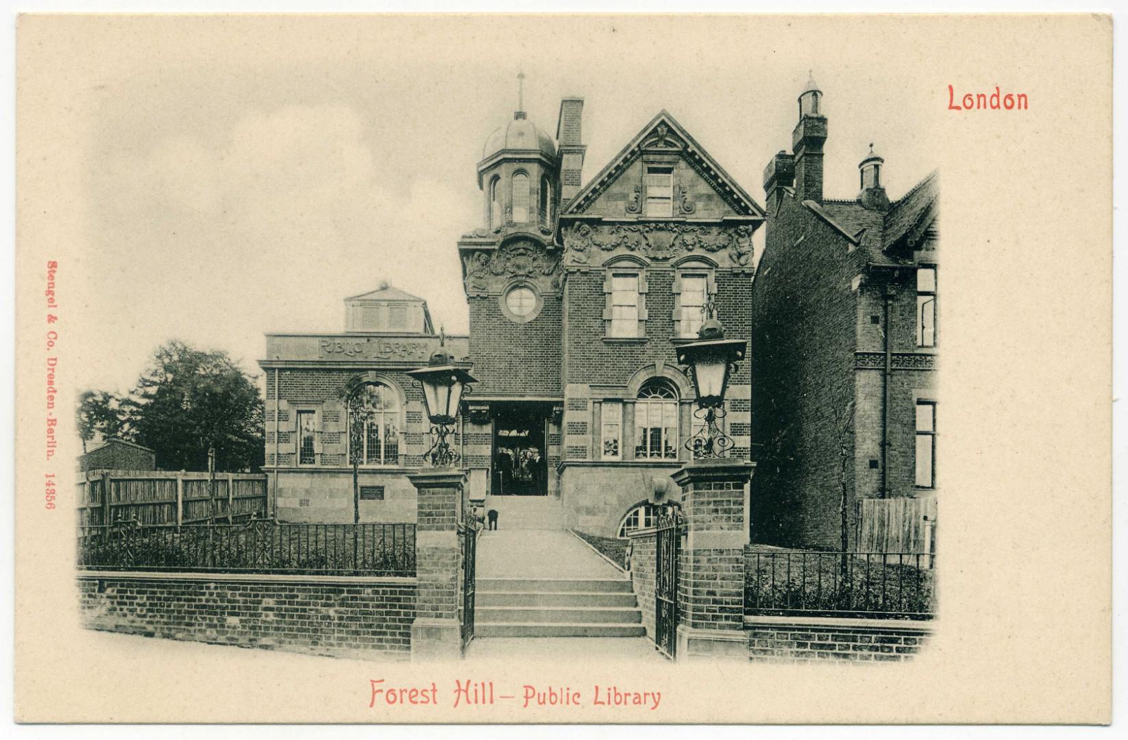 London Lewisham Forest Hill Public Library