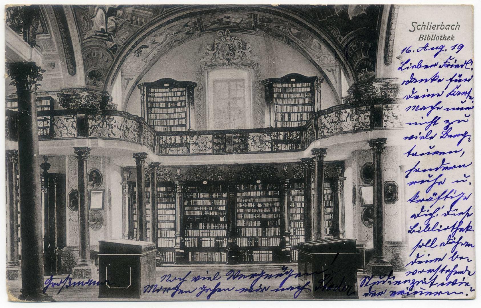 Stift Schlierbach: Bibliothek
