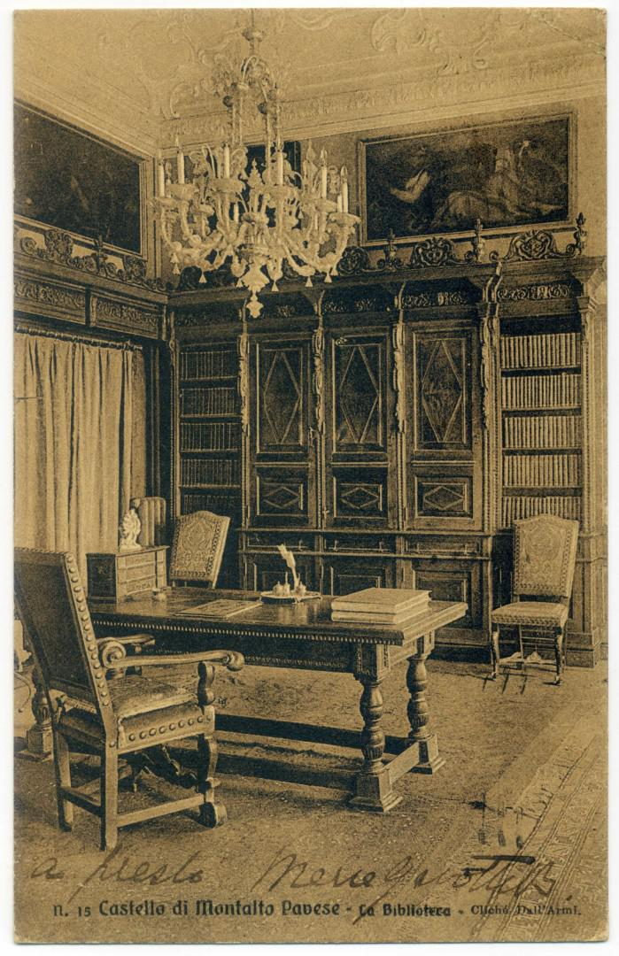 Castello di Montalto Pavese Biblioteca
