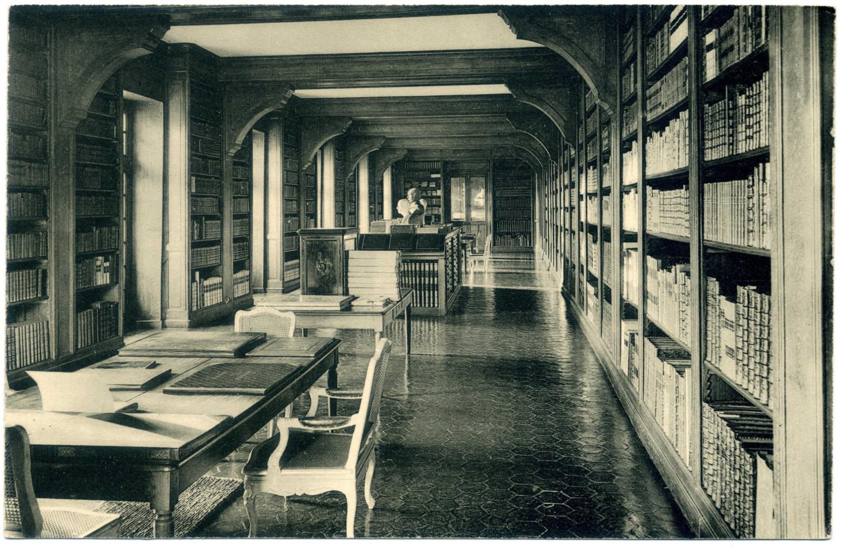 Dampierre-en-Yvelines: Schloss Dampierre, Bibliothek