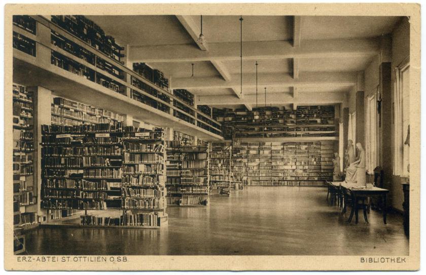 Eresing: Erzabtei St. Ottilien - Klosterbibliothek