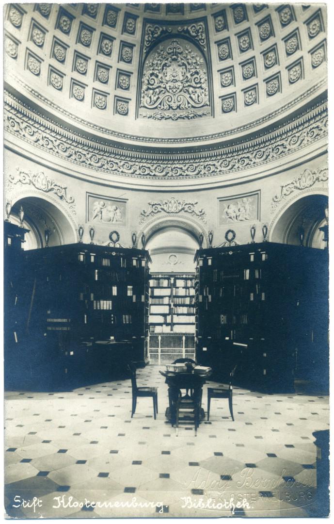 Stift Klosterneuburg: Stiftsbibliothek, Kuppelsaal