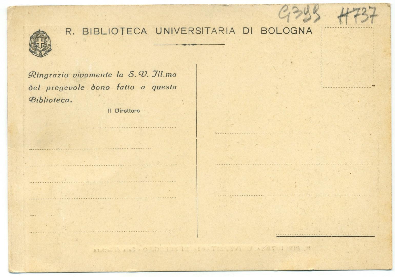 Bologna Universitaetsbibliothek Aula Magna r