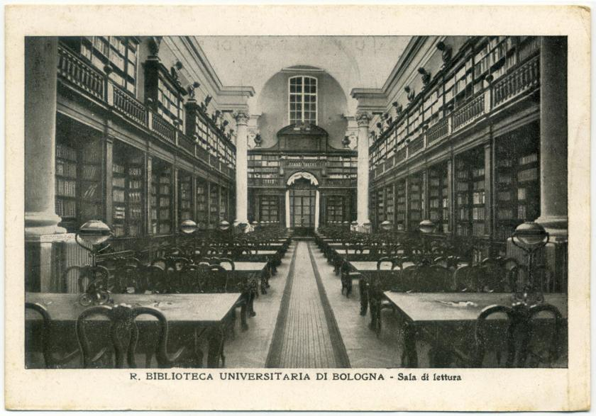 Bologna Universitaetsbibliothek Aula Magna
