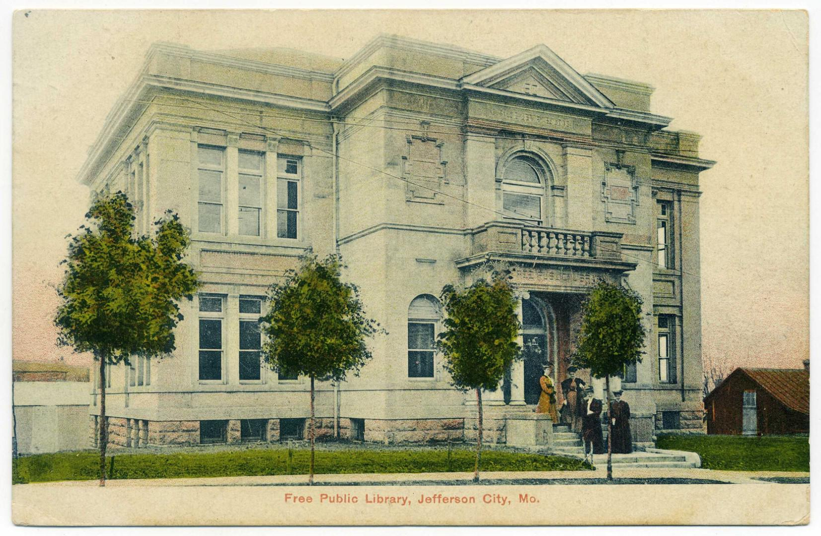 Jefferson City: Carnegie Library