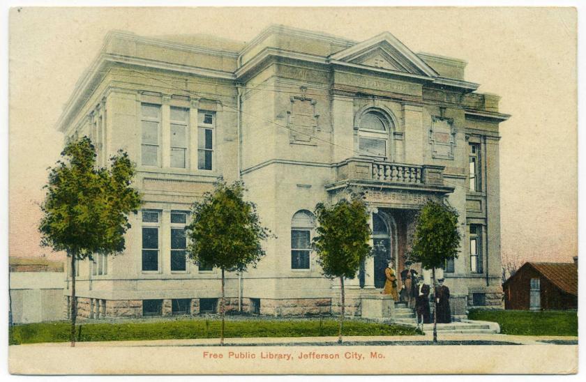 Jefferson City: Carnegie Library