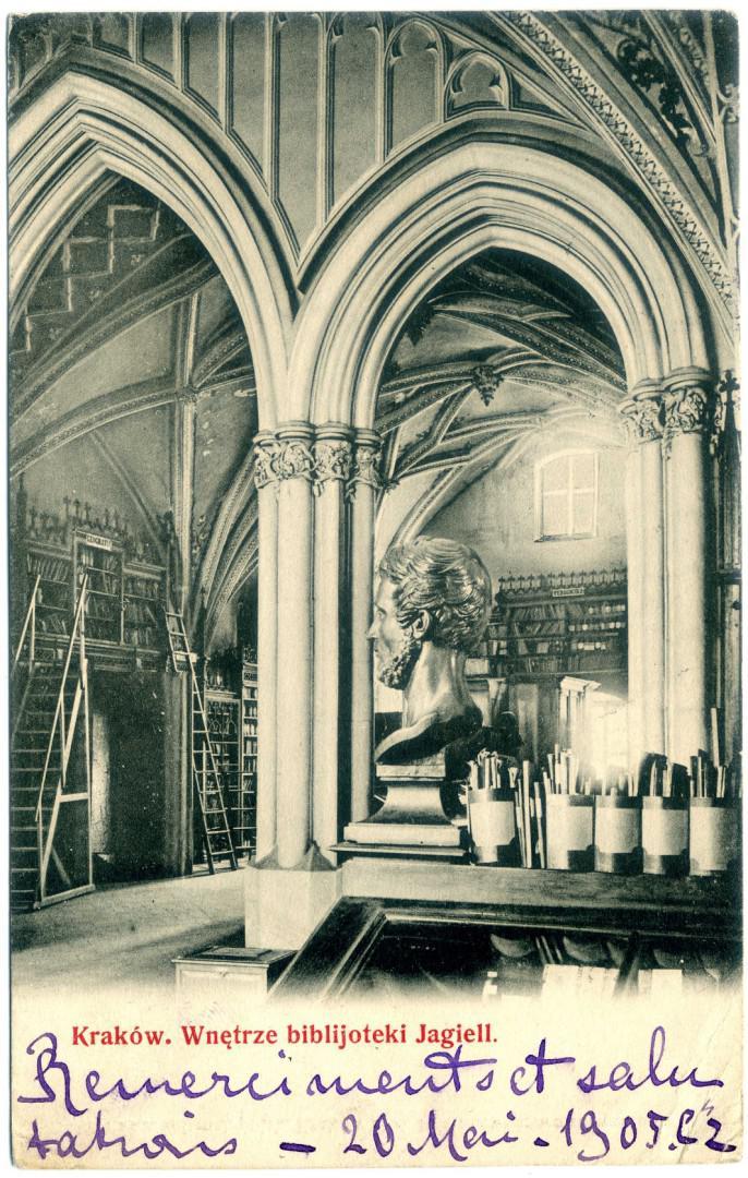 Krakau: Collegium Maius - Universitätsbibliothek