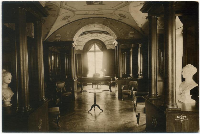 Schloss Malmaison - Bibliothek (Charles Percier und Pierre-François-Léonard Fontaine)