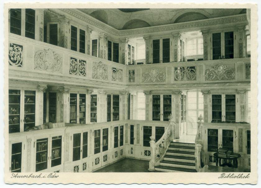Klosterbibliothek Amorbach (Fürstlich Leiningensche Bibliothek)