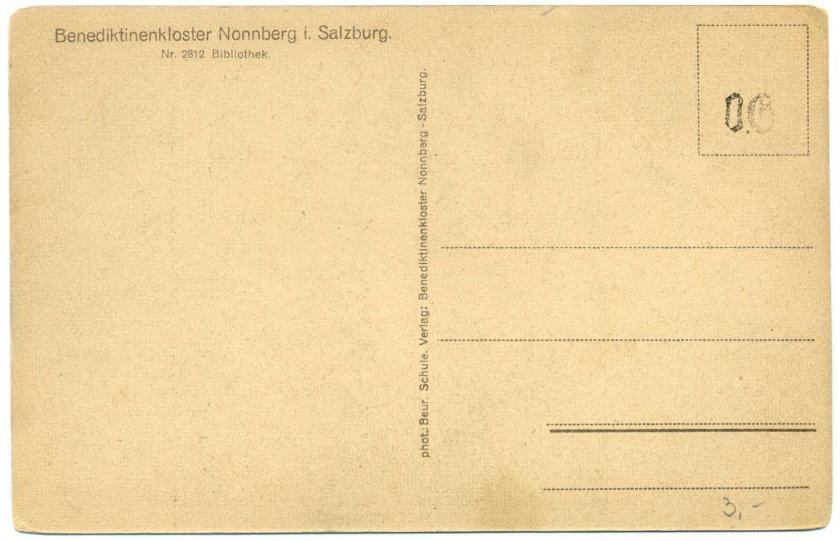 Salzburg Stift Nonnberg Bibliothek r