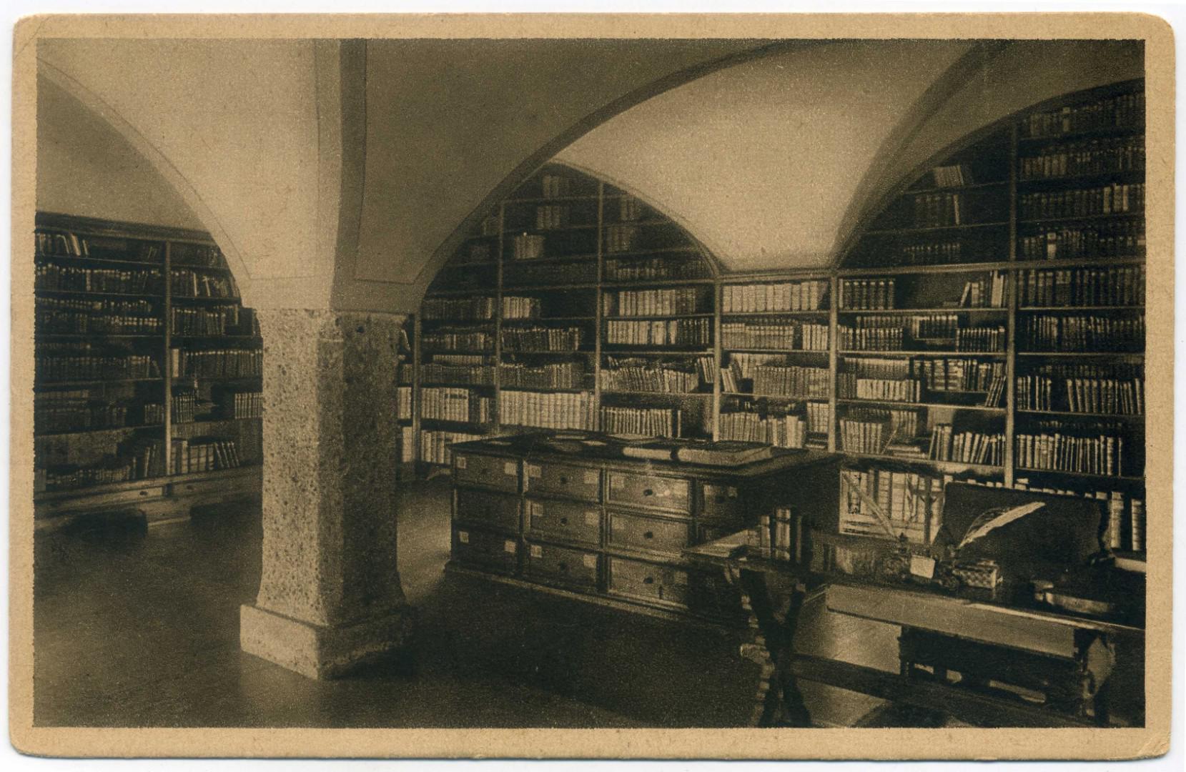 Salzburg: Stift Nonnberg - Bibliothek