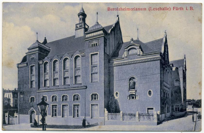 Fürth: Lesehalle (Berolzheimerianum)