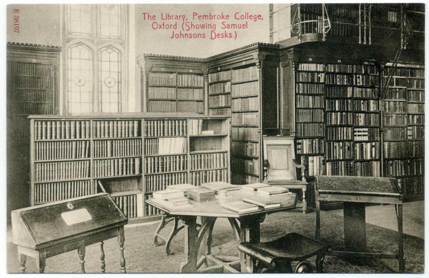 Oxford: Pembroke College: Broadgates Hall Library