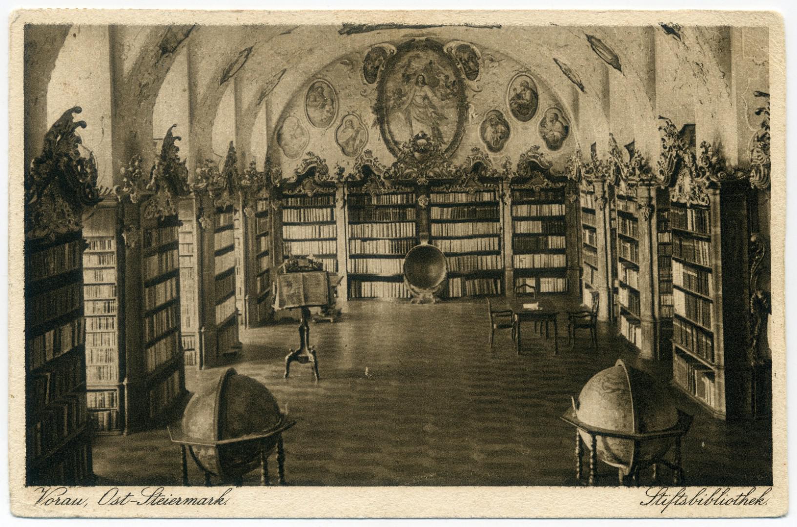 Augustiner-Chorherrenstift Vorau - Bibliothekssaal