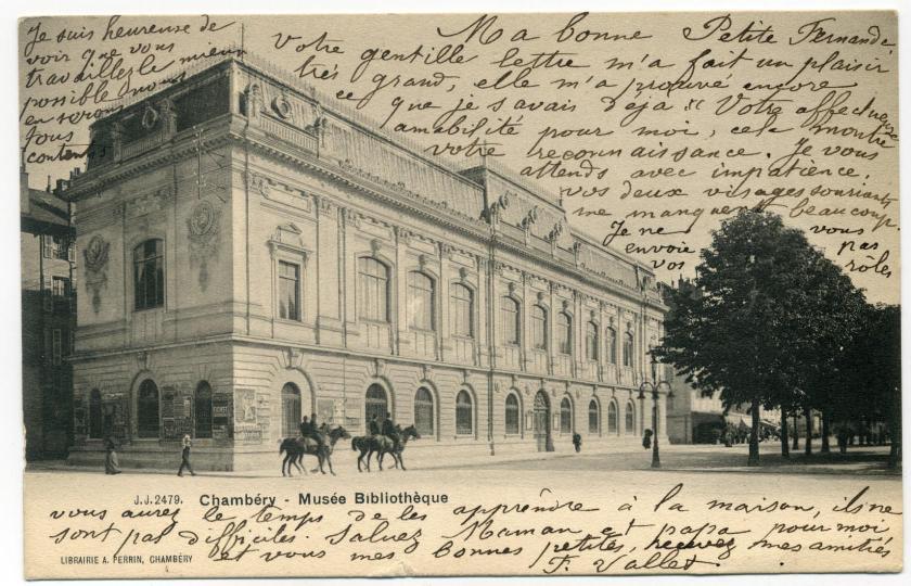 Chambéry: Musée-bibliothèque