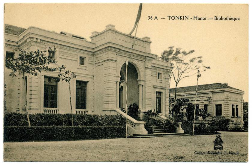 Hanoi: Nationalbibliothek (National Library of Vietnam)
