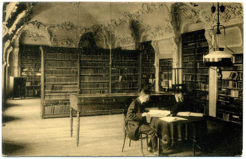 Kerkrade: Abtei Rolduc - Bibliothek (Joseph Moretti, 1754)