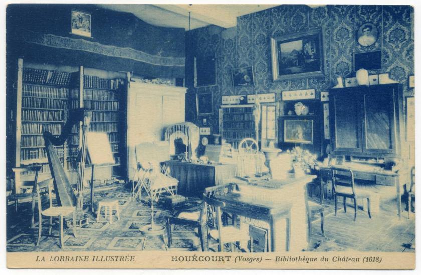 Schloss Houecourt - Bibliothek