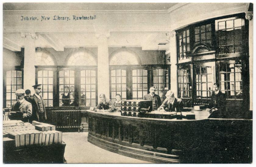 Rawtenstall: Carnegie Library (1907)