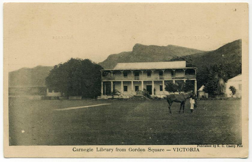 Victoria (Seychellen): Carnegie Library