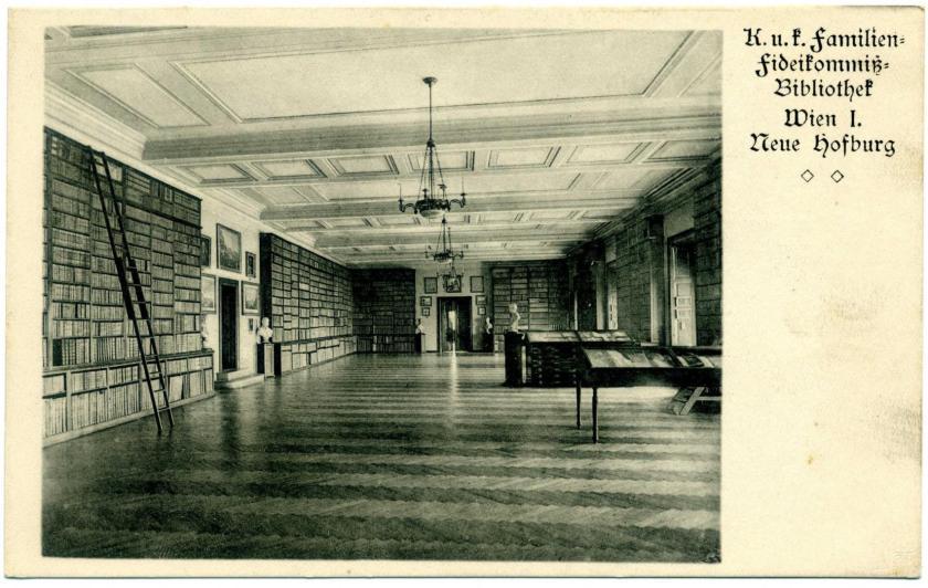 Wien: Hofburg (Neue Burg), Fideikommiß-Bibliothek