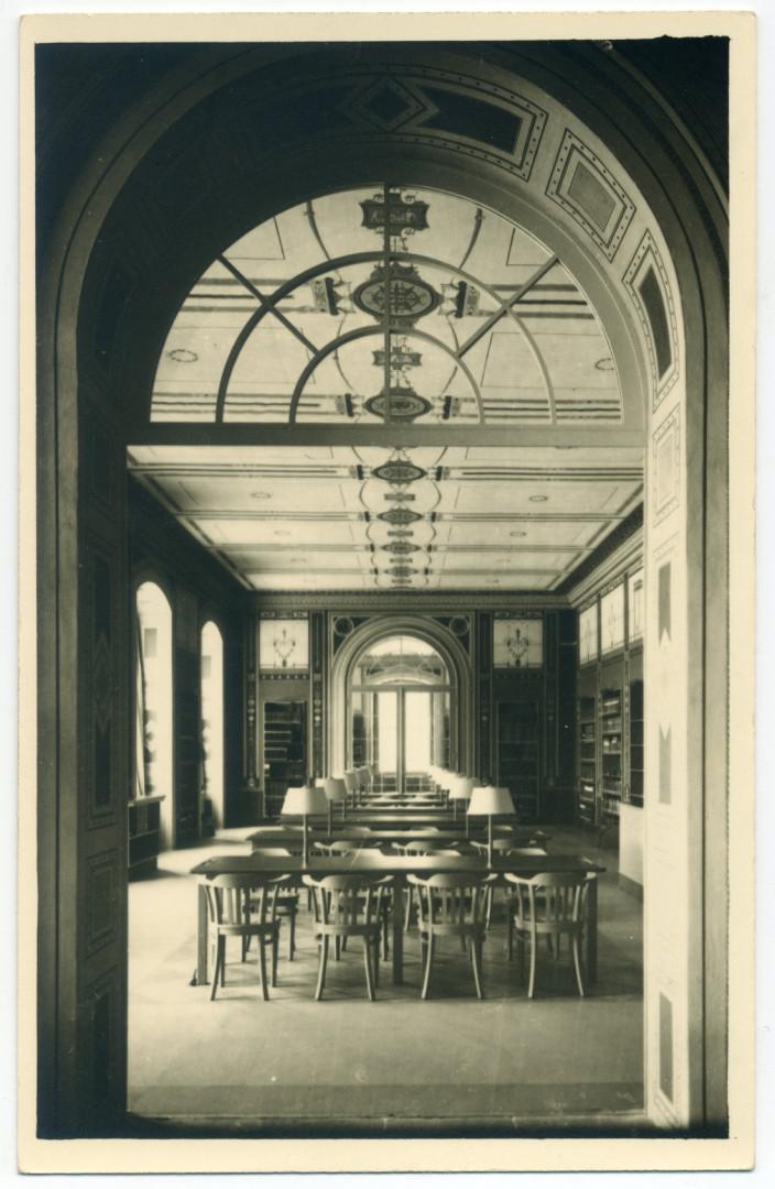 Dresden: Sächsische Landesbibliothek (Japanisches Palais), Musiklesesaal