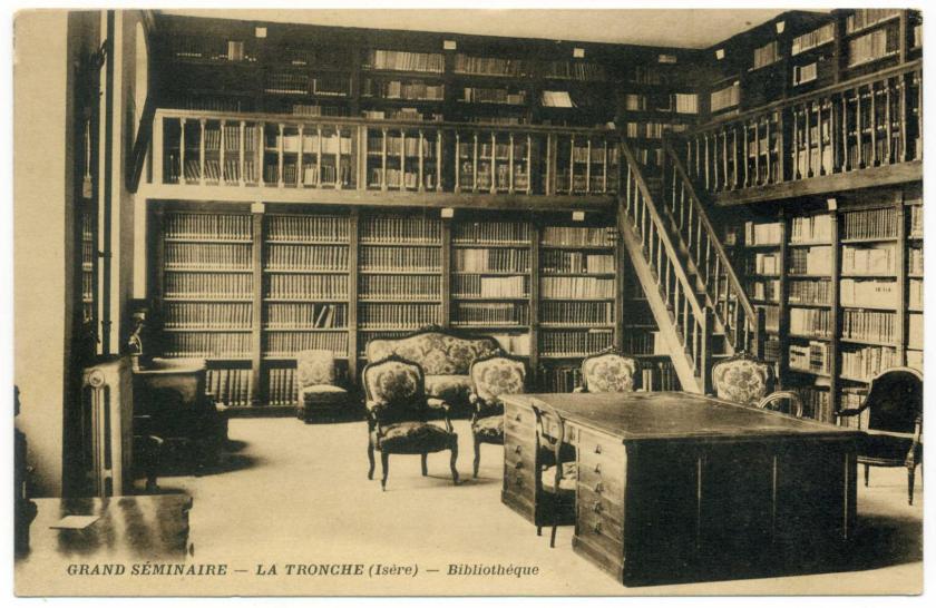 La Tronche (Meylan): Grand Seminaire, Bibliothèque