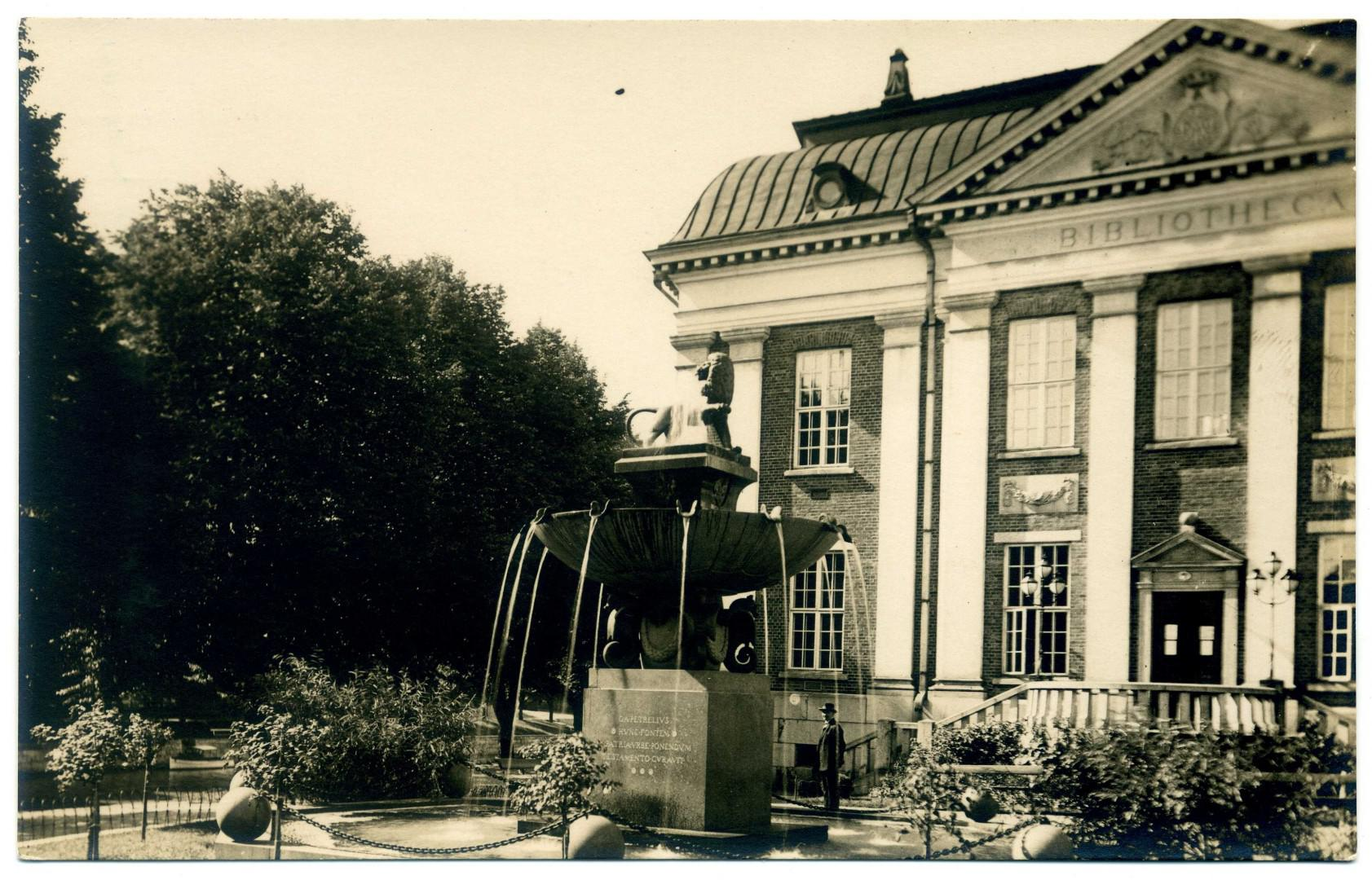 Turku: Stadtbibliothek (Karl August Wrede, 1903)