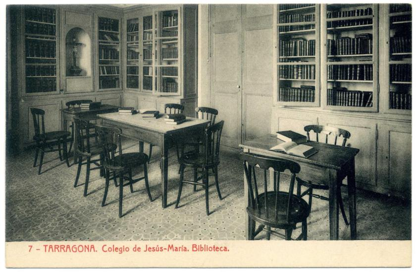 Tarragona: Colegio de Jesús-Maria, Bibliothek
