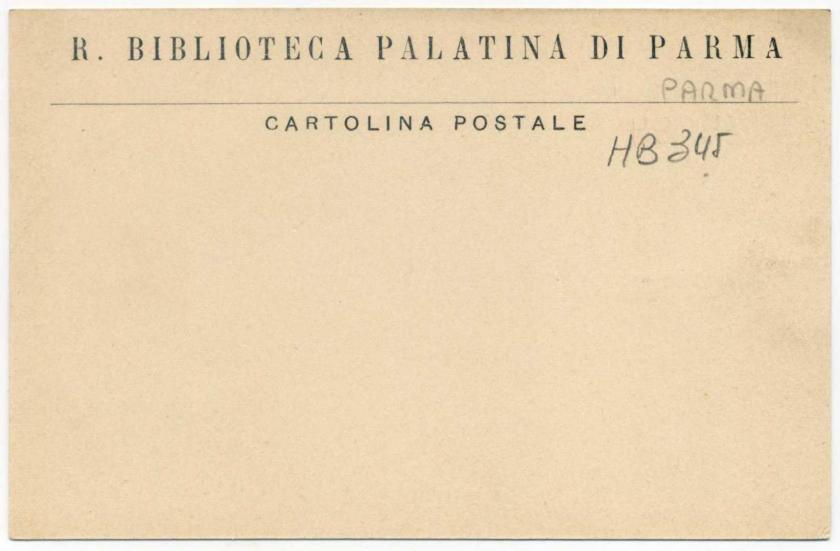 Parma: Bibioteca Palatina