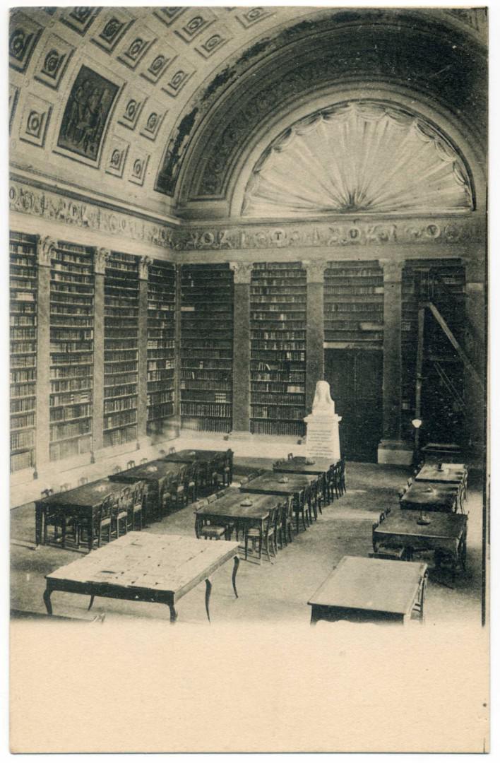 Parma: Biblioteca Palatina, Salone Maria Luigia (1834)
