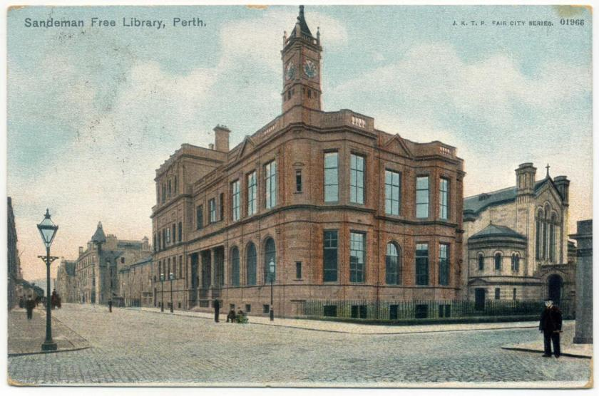 Perth: Sandeman Public Library (Campbell Douglas & Morrison 1898)