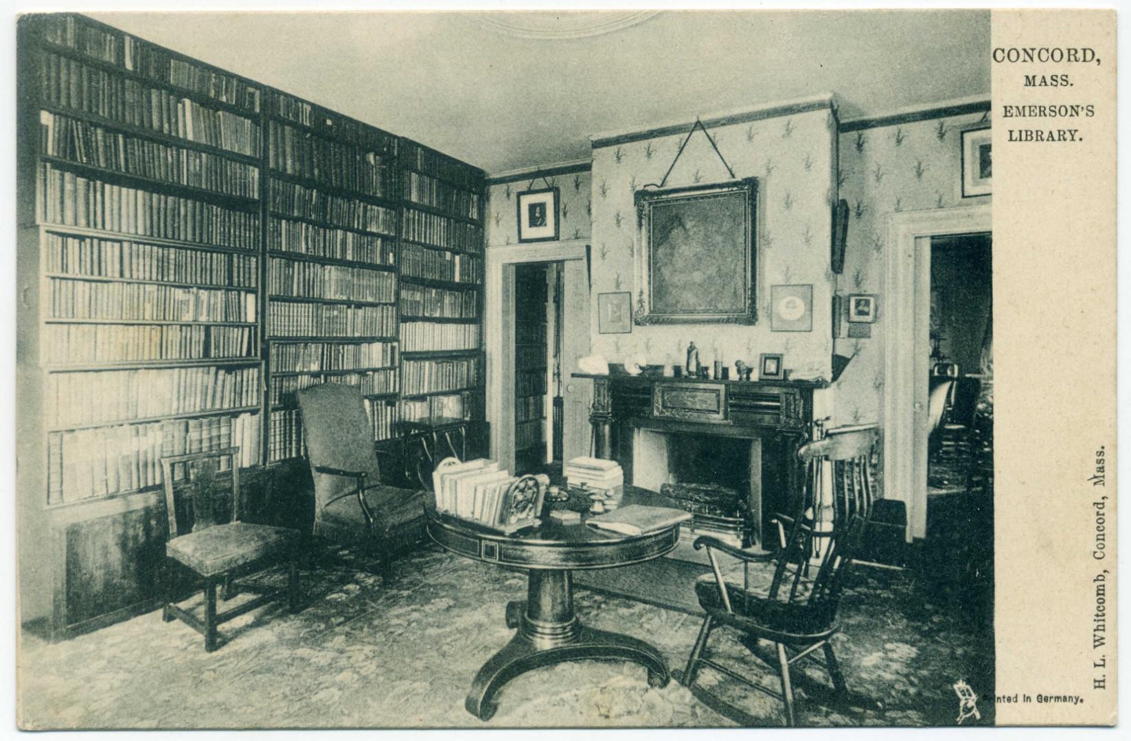 Concord: Emerson's Library