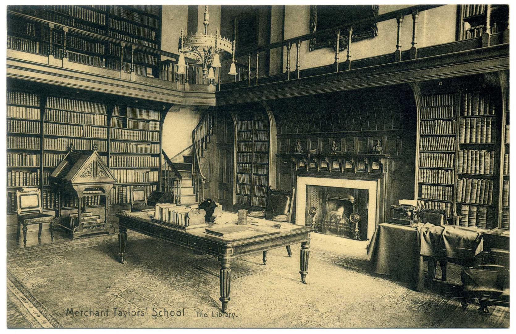 London: Merchant Taylors' School - Library