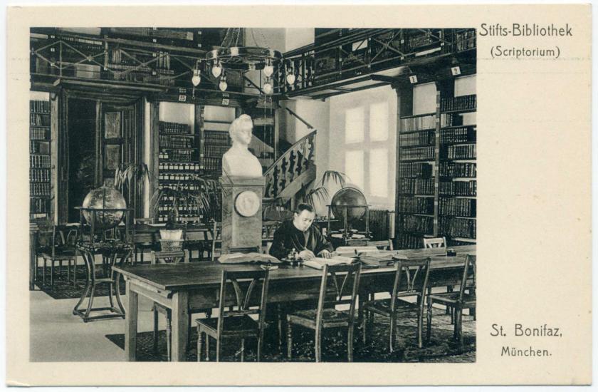 München: Abtei St. Bonifaz - Stiftsbibliothek