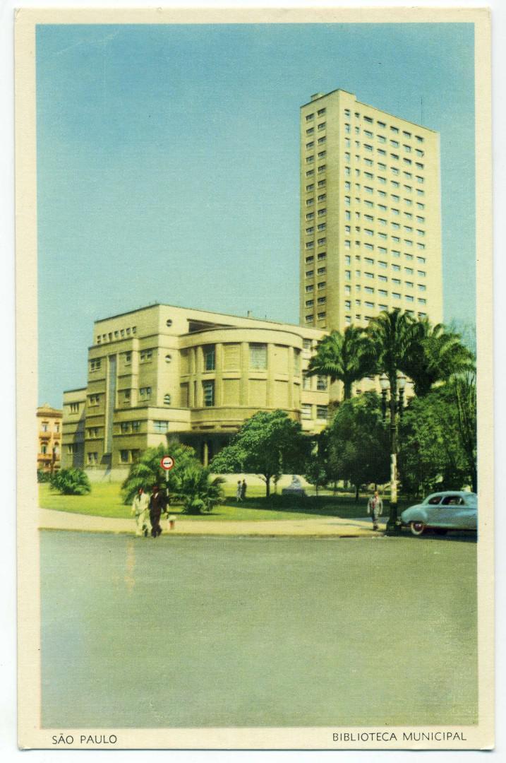 São Paulo: Biblioteca Mário de Andrade (Jacques Pilon 1942)