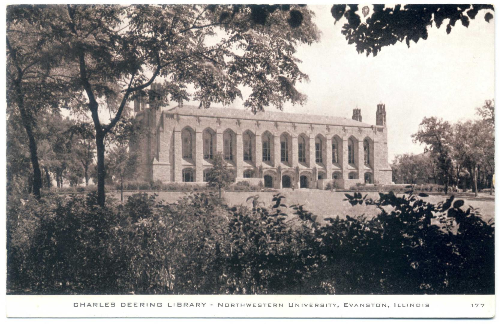 Evanston: Northwestern University, Charles Deering Library