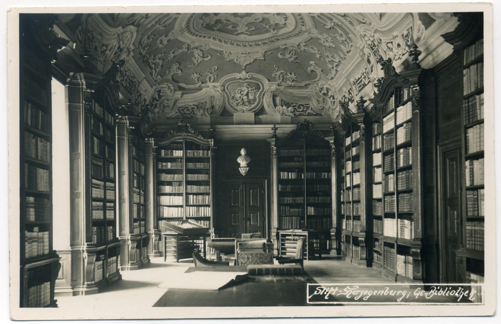 Stift Herzogenburg: Spätbarocke Bibliothek (1751-54)