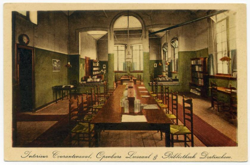 Doetinchem: Öffentliche Bibliothek und Lesesaal