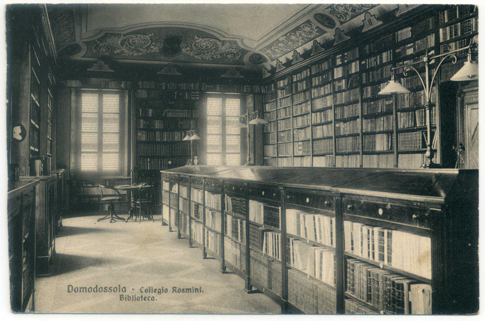 Domodossola: Collegio Mellerio-Rosmini, Biblioteca (Sala Gaddo)