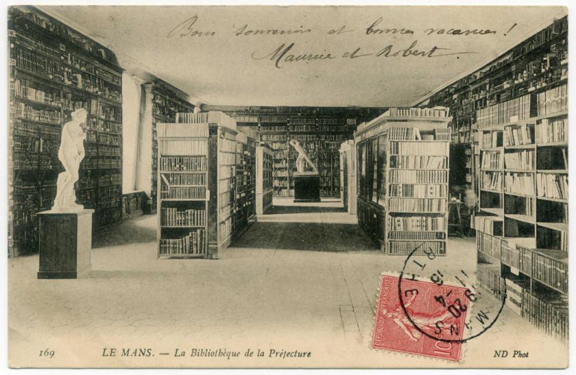 Le Mans: La Bibliothèque de la Préfecture