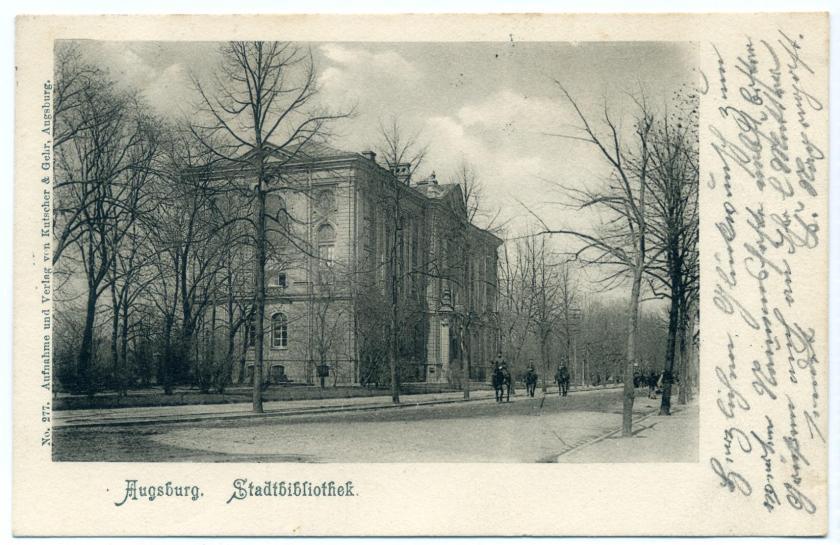 Augsburg: Stadtbibliothek (Martin Dülfer, 1893)