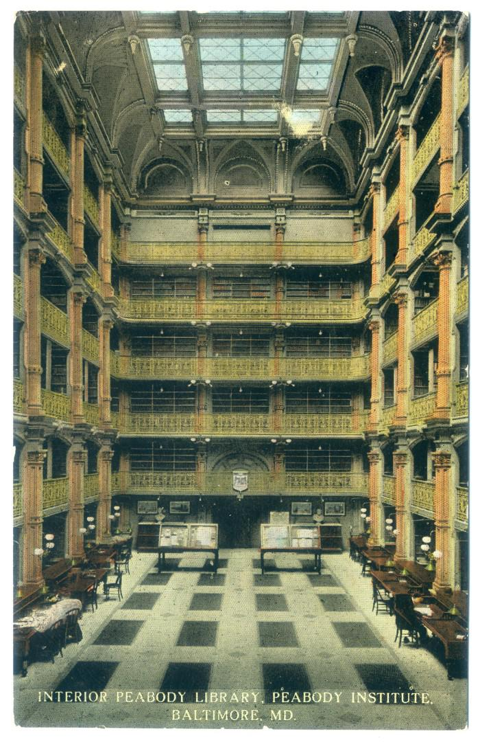 Baltimore: George Peabody Library