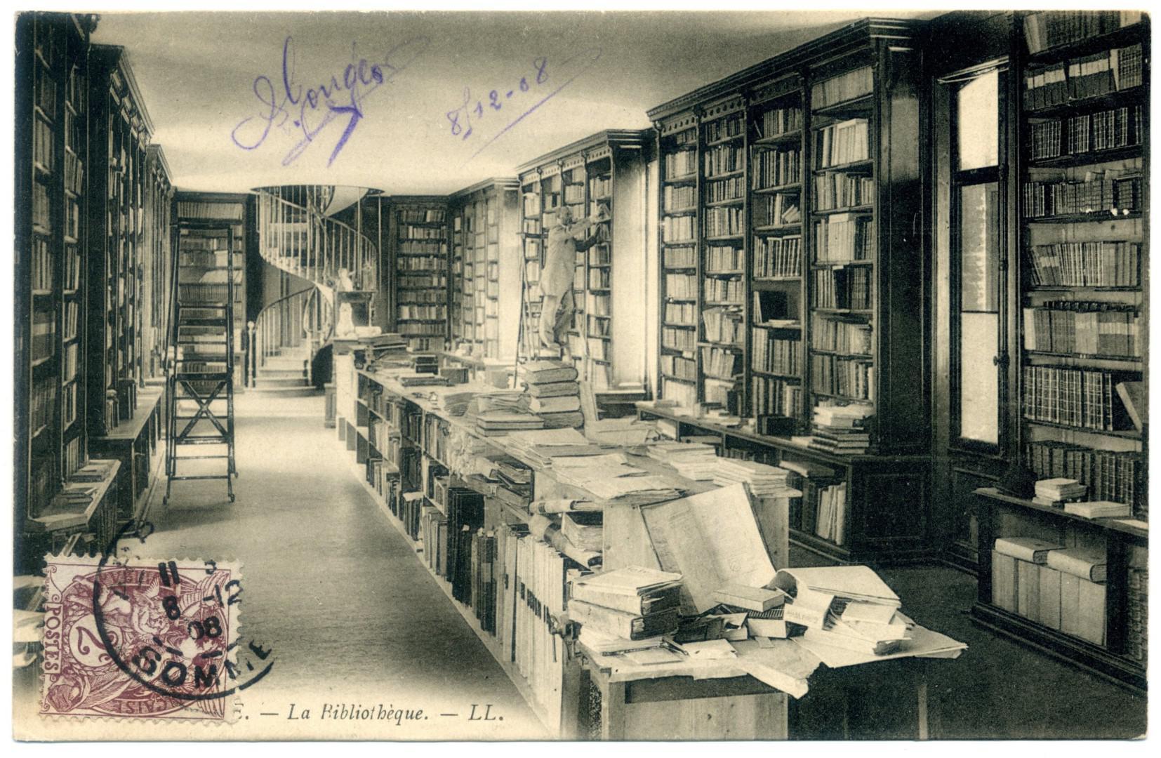 Abbeville: Bibliothèque municipale
