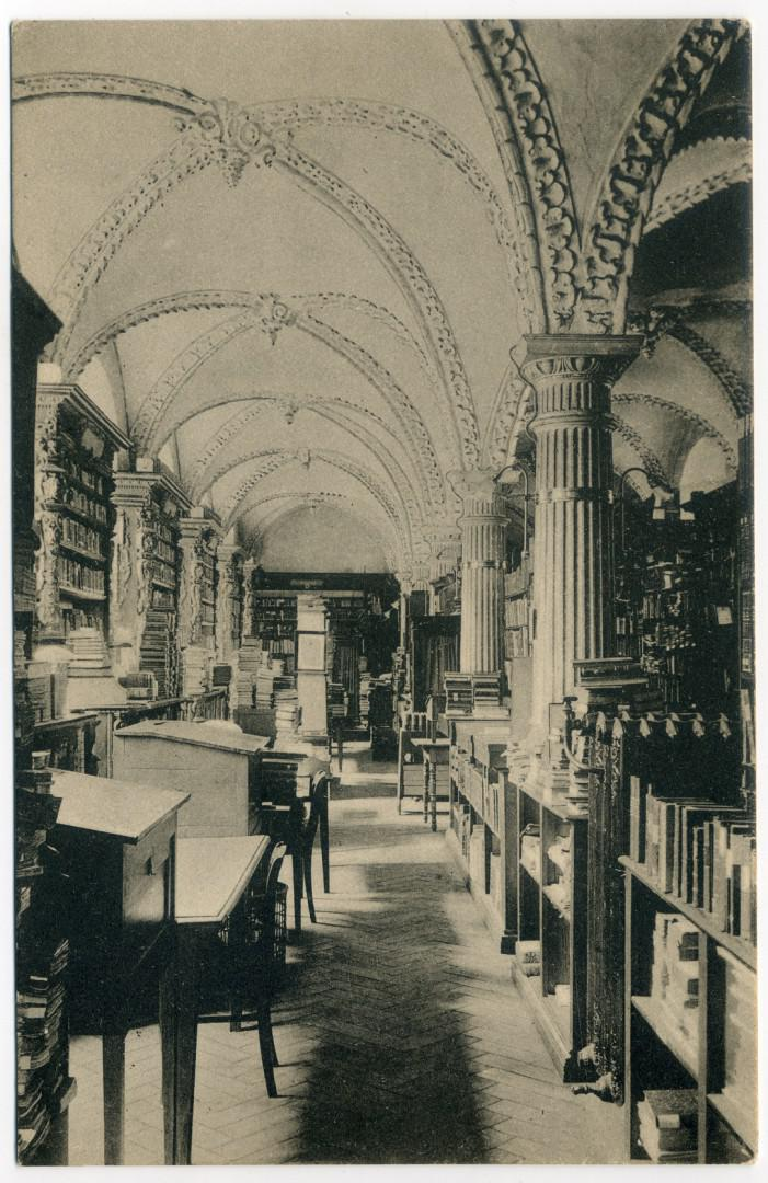 Köln: Erzbischöfliches Priesterseminar (Marzellenstr.), Bibliothek
