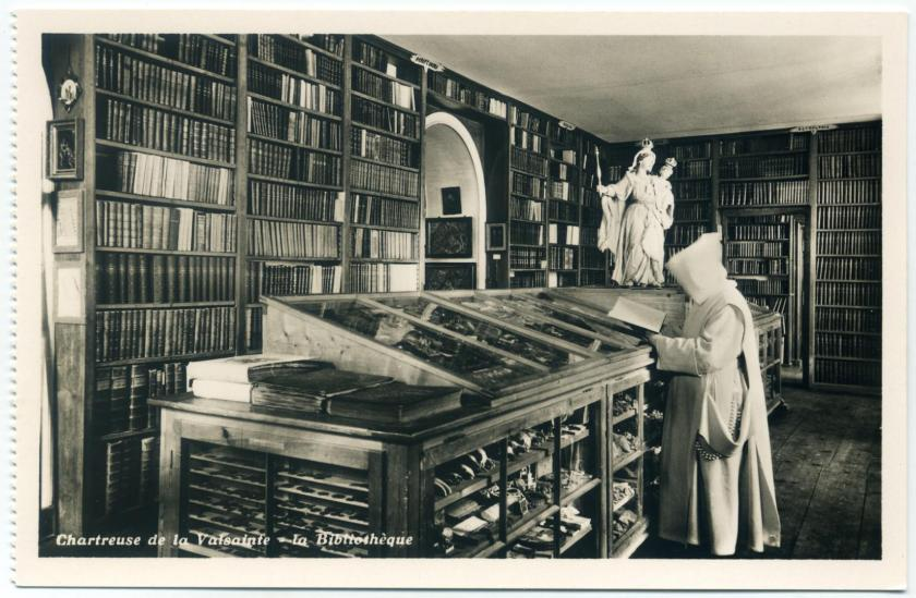 Cerniat: Kartause La Valsainte, Bibliothek