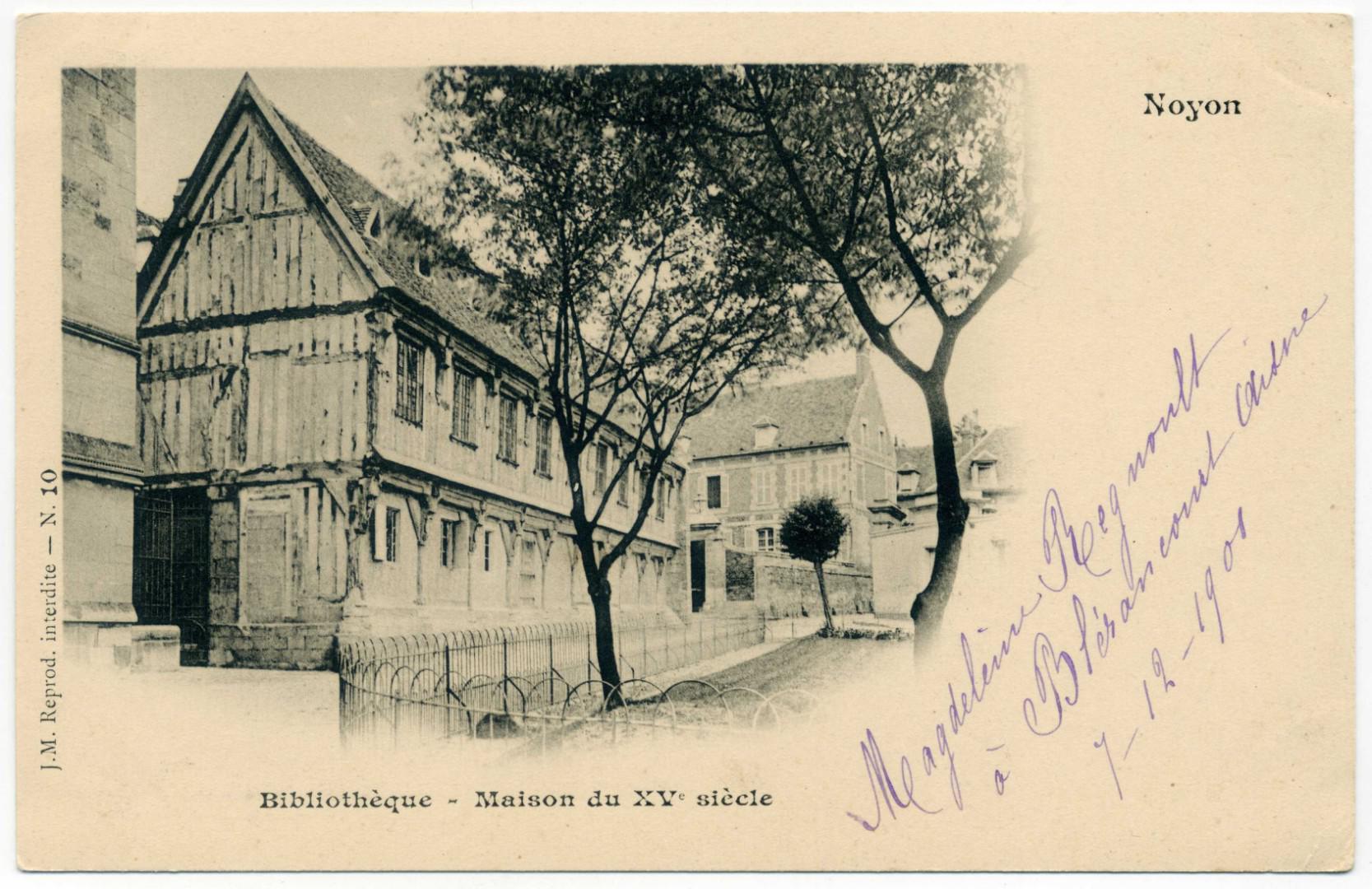 Noyon: La Bibliothèque du Chapitre