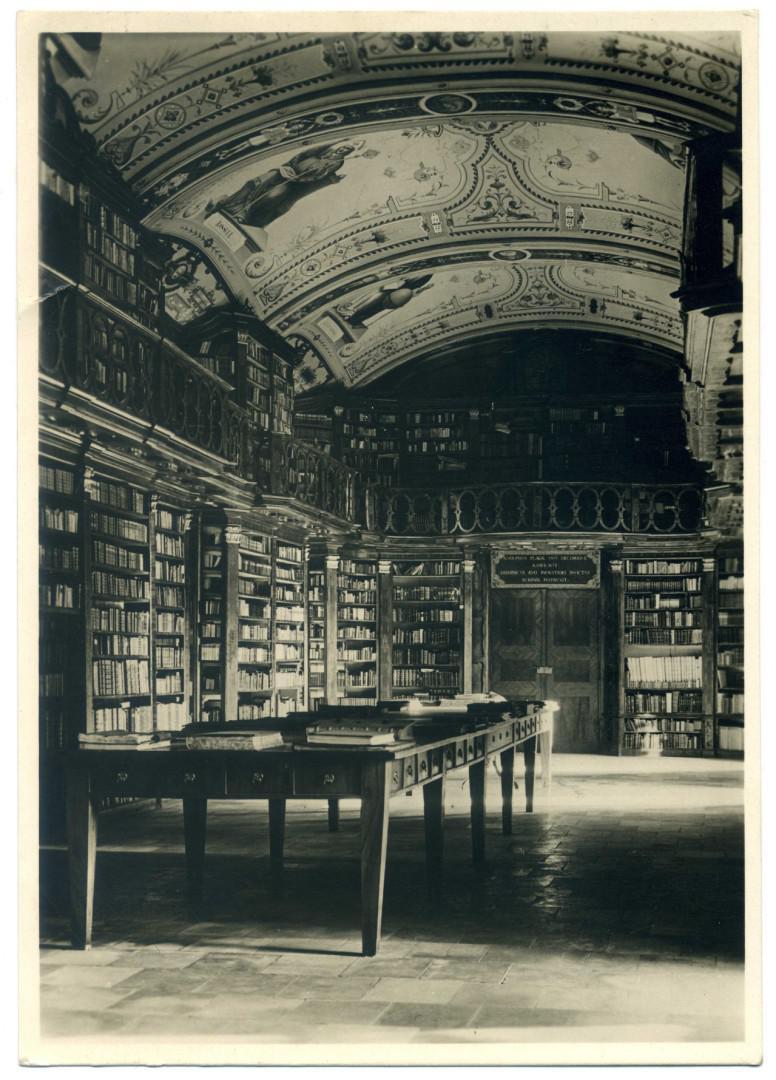 Aigen-Schlägl: Stift Schlägl, Bibliothekssaal (1852)