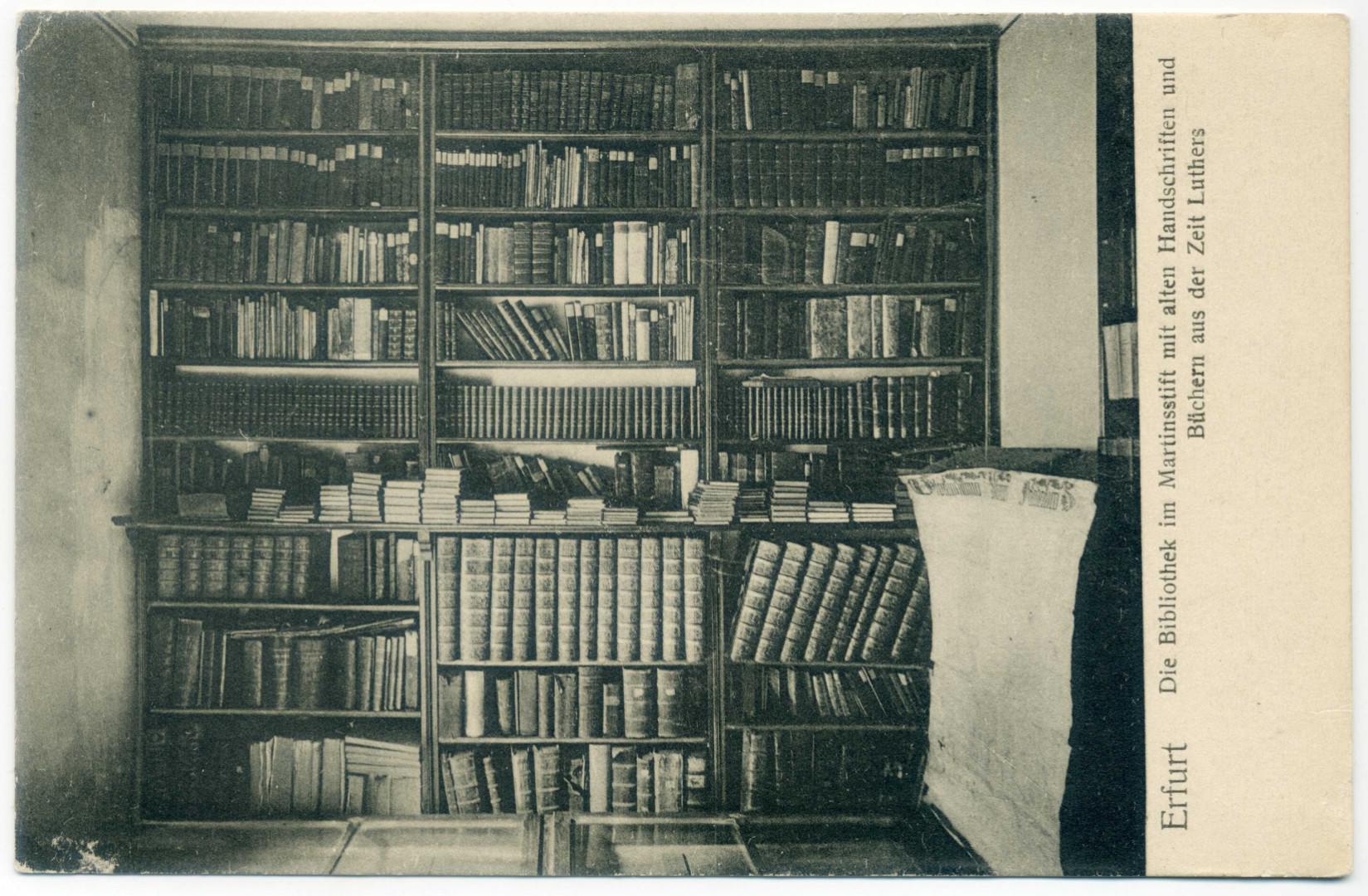 Erfurt: Bibliothek im Martinsstift